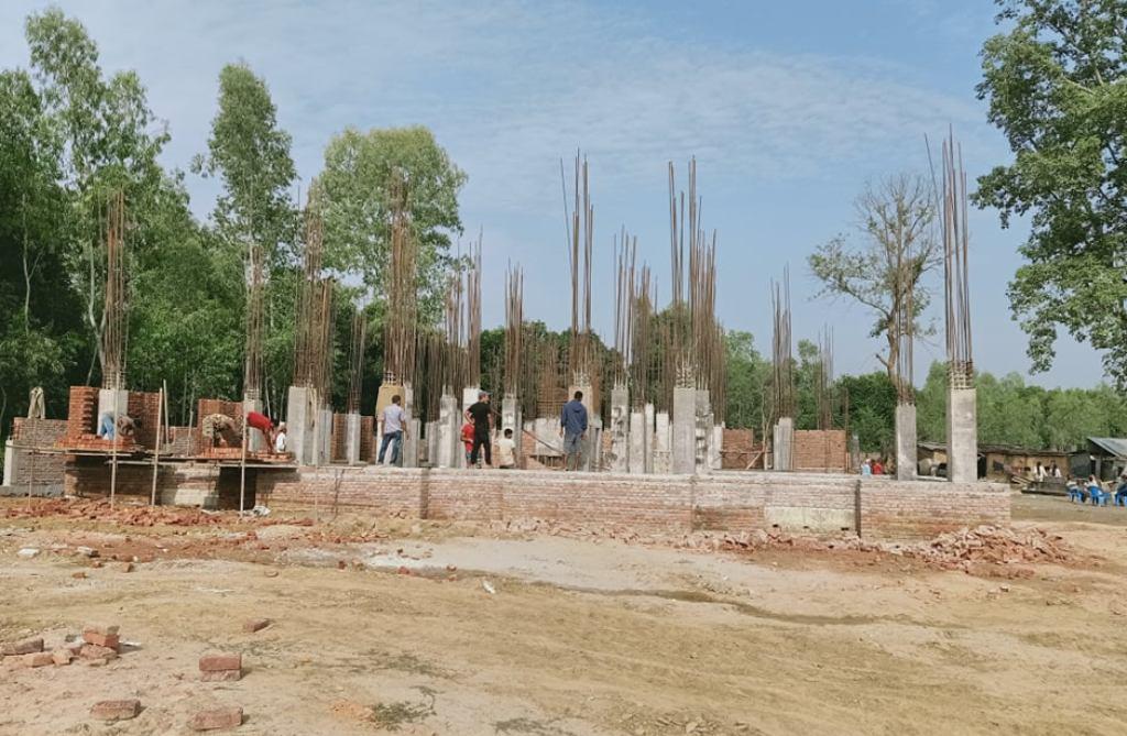 गाउँपालिका कार्यालयको भवन निर्माण कार्य २५ प्रतिशत सकियो