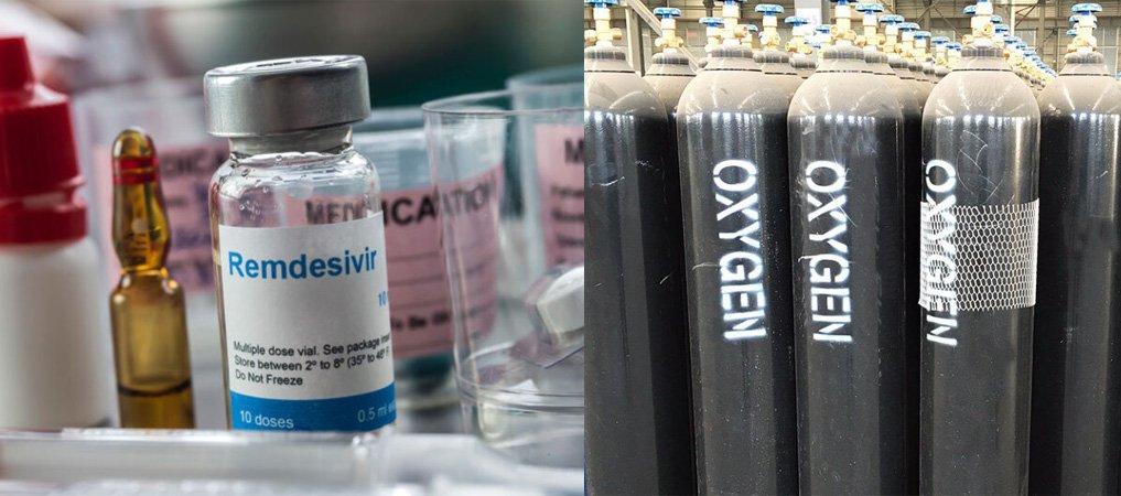 रिम्डिसिभिर ४५० भाइल आइपुग्यो,थप आउँदै,अक्सिजन अभाव छैन