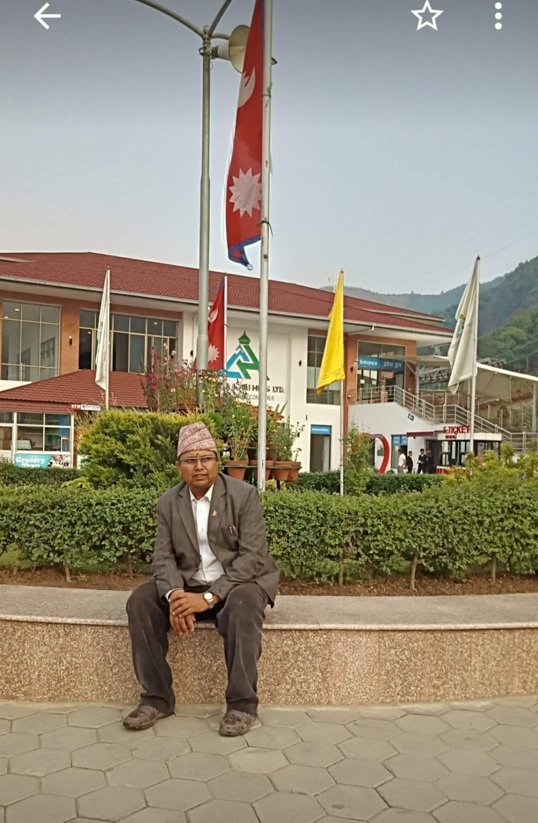Datta Prasad Acharya is the president of the children's organization
