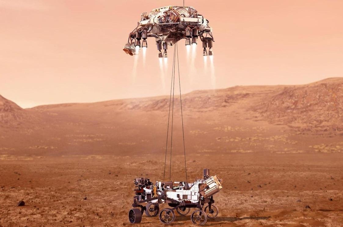 अमेरिकी अन्तरिक्षयान पृथ्वीबाट उडेको ७ महिनापछि मंगलग्रहमा सफल अवतरण