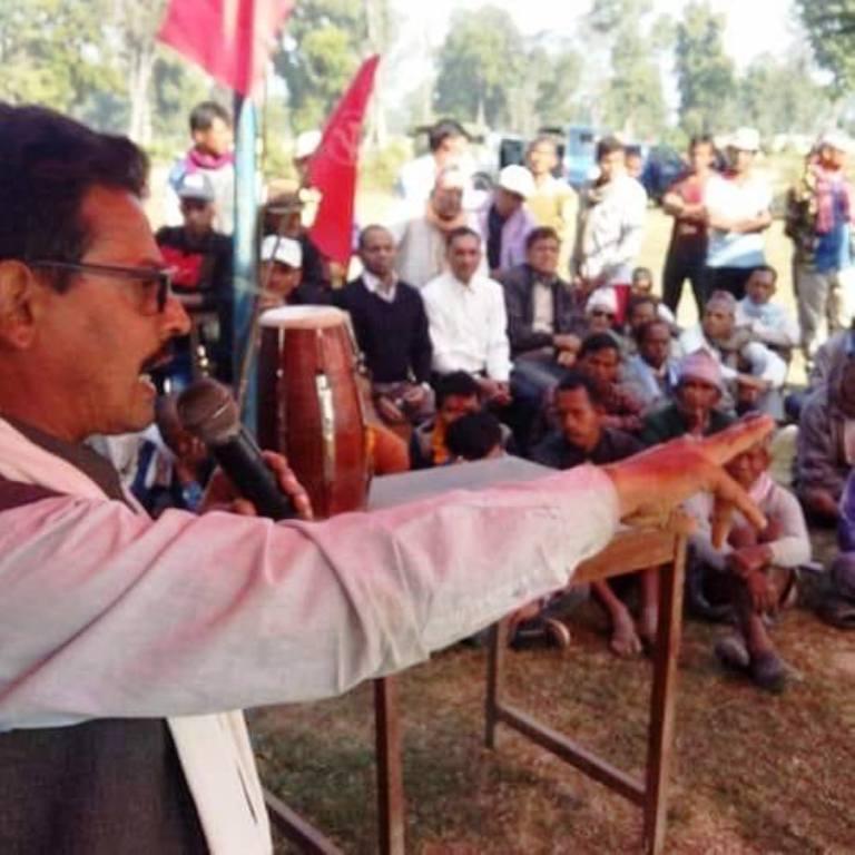 प्रधानमन्त्री केपी ओलीले काम दिनुभाछ, त्यतैतिर बेस्त भाछु : तिलकराम शर्मा (हिमाल)