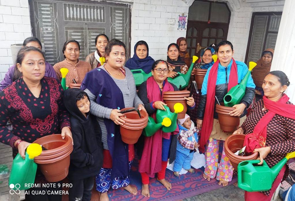 शहरी क्षेत्रका महिला : खाली जग्गा, घरको छतमै तरकारी फलाउने आँट