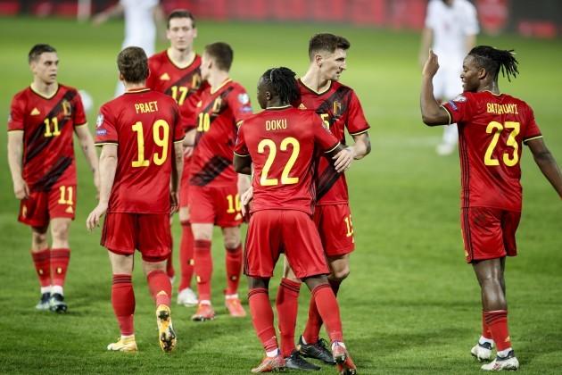 विश्वकप फुटबलको छनोट खेलमा बेल्जियम र नेदरल्याण्ड्सकाे सानदार जित