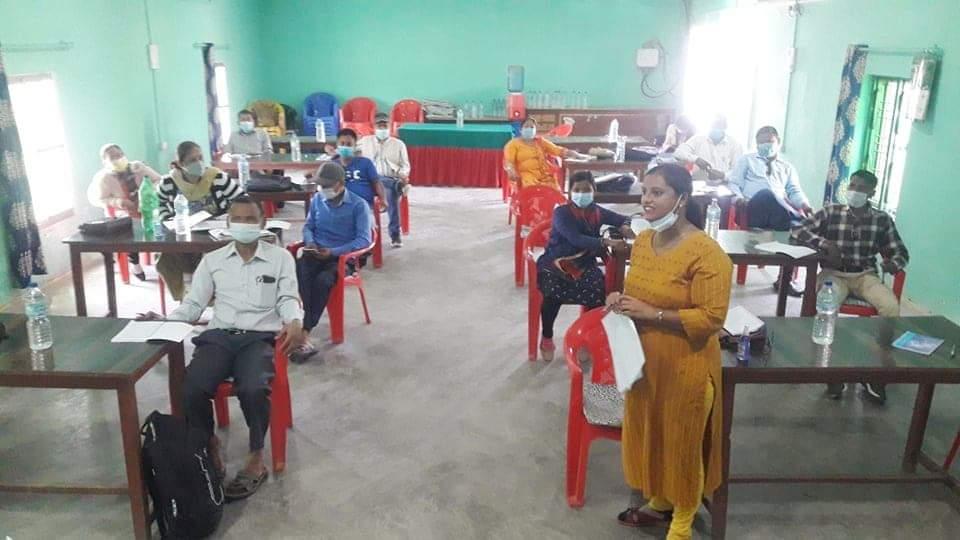 तीन स्थानीय तहका २० शिक्षकलार्ई स्टीक एण्ड स्टोन प्रशिक्षक प्रशिक्षण प्रदान