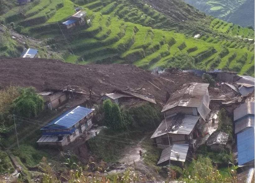 बाढीपहिरोमा परेर भत्केका घर पुनर्निर्माण गर्न सरकारले ५ लाखसम्म अनुदान दिने