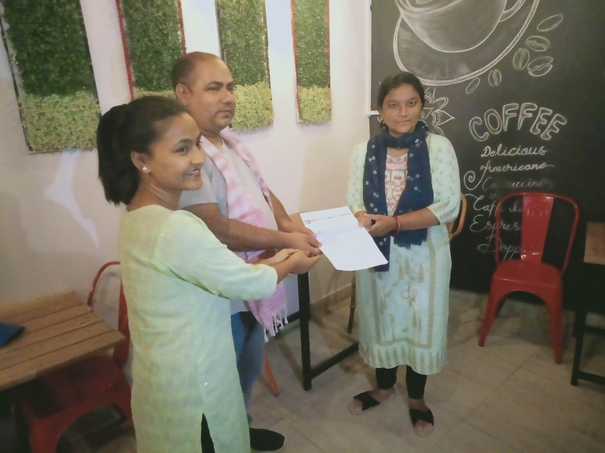 लुम्बिनी प्रदेशका २५ जना पत्रकारले कोभिड वीमा वापतको रकम पाए