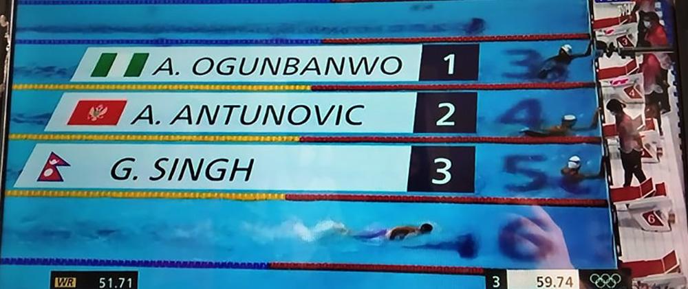 ओलम्पिकमा गौरिकाको औसत प्रदर्शन, हिटमा तेस्रो