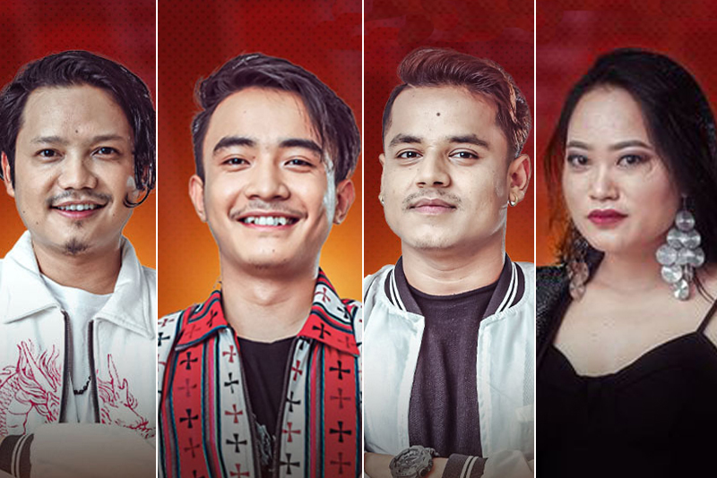 भ्वाइस अफ नेपालका चार उत्कृष्ट प्रतियोगी छनोट