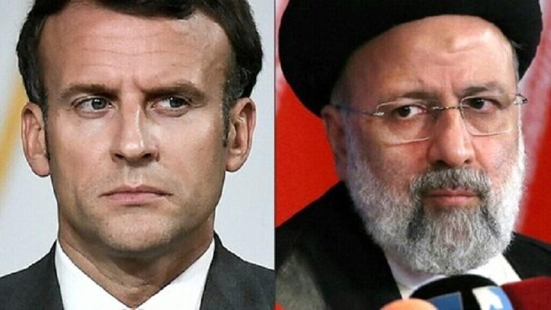 इरानका राष्ट्रपति रायसी र फ्रान्सेली समकक्षी म्याक्रोँबीच फोनवार्ता