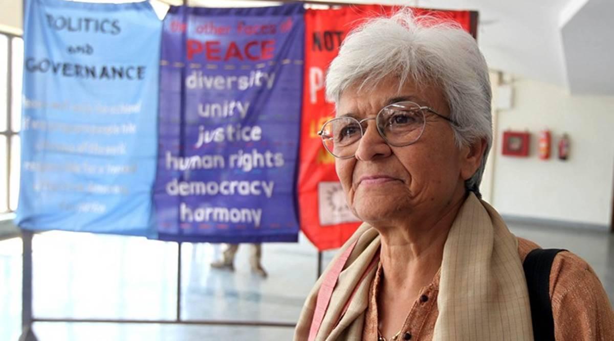 भारतीय महिला अधिकारकर्मीको निधन
